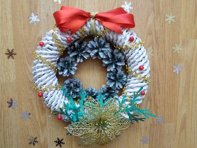 DIY - Zrób to sam, Handmade, Upcykling, Moda, Dekoracje, Inspiracje: Dekoracje świąteczne w moim domu DIY. Jak zrobić w...