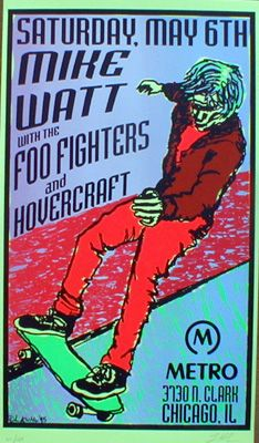 First Foo Fighters' tour poster... I believe.