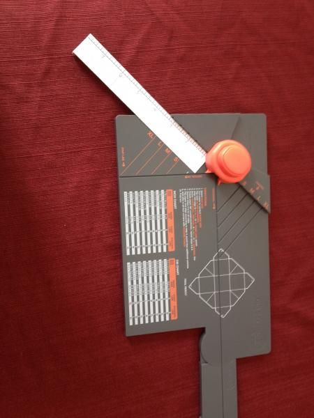 Gift Box Punch Board Extension Ruler by karjor - Cards and Paper Crafts at Splitcoaststampers