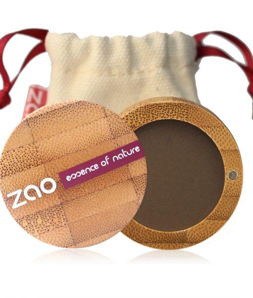 ZAO – Sombra de ojos mate – 203: Brun Foncé    Maquillaje Cosmética Natural ecológica