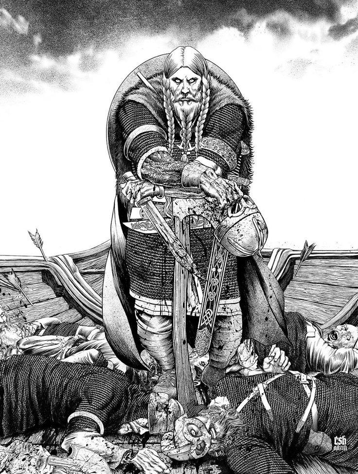 The Bullshit Stops When The Hammer Drops — Jarl Sigurd, Nordic Deathlord by Christian Sloan...