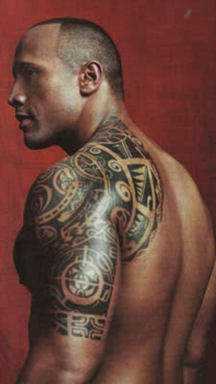 Dwayne johnson the rock tatoeageonwerpen