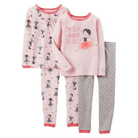 Just One You Made By Carter S 174 Toddler Girls 4 Piece