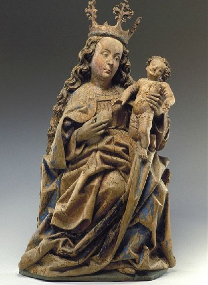 Madonna and Child (Germany, ca. 1470-80, Detroit Institute of Art).