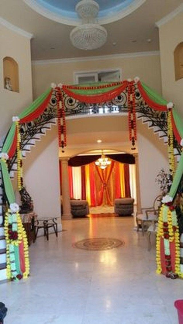 Elegant Photo Of Wedding House Decorations Home Wedding