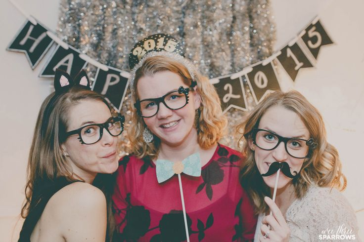 New Years Eve, New Years Photo Booth, Photo Booth, Wee Three Sparrows, Toronto Photographer #torontophotographer #weethreesparrows #newyears #photobooth