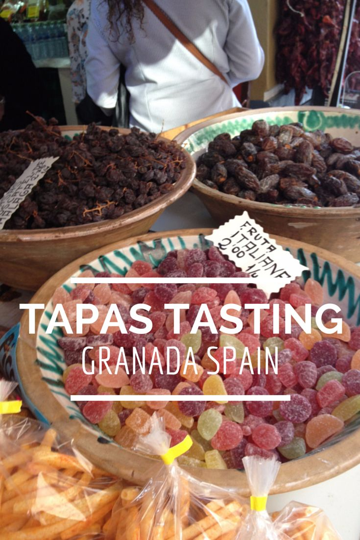 Southern Spain is home to amazing food. Experience some of them during a tapas tour in Granada!