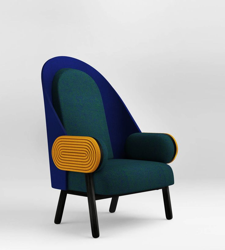 U0027MOON Du0027, A Contemporary Armchair With A Vintage Twist In Limited Edition
