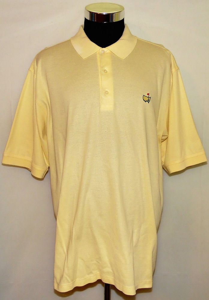 The Masters Augusta Nationals Golf Shop Men's Short Sleeve Polo Shirt Size XL #AugustaNationalGolfShop #PoloRugby