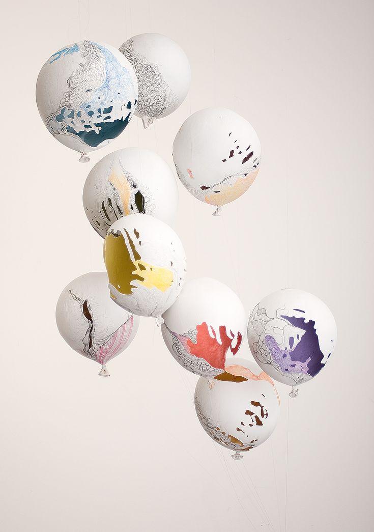 Mira Alibek, FBLE :: Dreams, 2011 (latex, urethane foam, resin, acrylic and pencil). #art