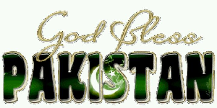 God bless Pakistan