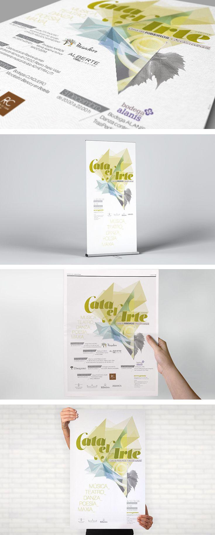 Campaña de promoción de Catas de vinos de la D.O. Ribeiro y actividades culturales.