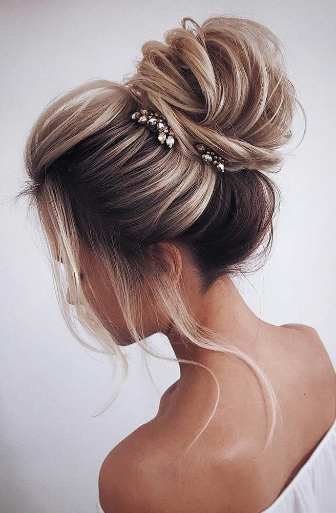Wedding Hairstyles Updo Hair Styles Thick Hair Styles Long Hair Styles
