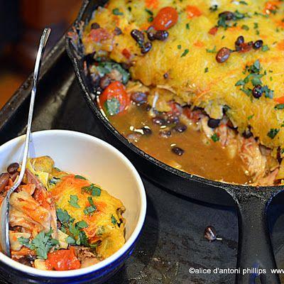 ~cast iron skillet mexican pie~ @keyingredient #pie