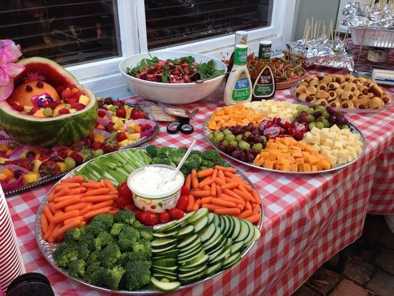 15 Easy Outdoor Party Food Ideas For A Crowd Backyard Parties Pinterest Bbq Foods And