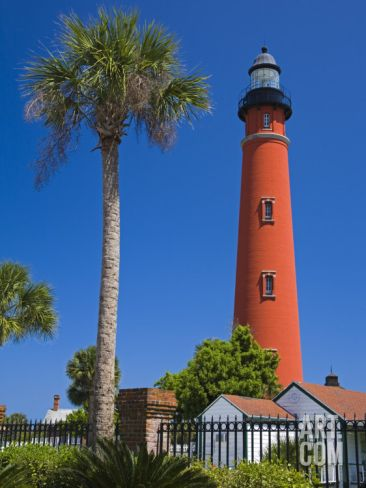 """Ponce Inlet Lighthouse, Daytona Beach, Florida, United States of America, North America"" - Photographic Print by Richard Cummins at Art.com"