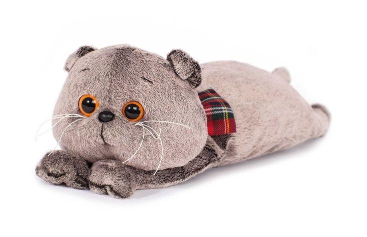 Игрушка Кот Басик подушка - Кот Басик - купить в интернет-магазине Киндерама
