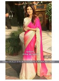 New Designer Pink Saree By Kmozi..  http://www.kmozi.com/bollywood-replica/bollywood-saree/new-designer-pink-saree-by-kmozi-830