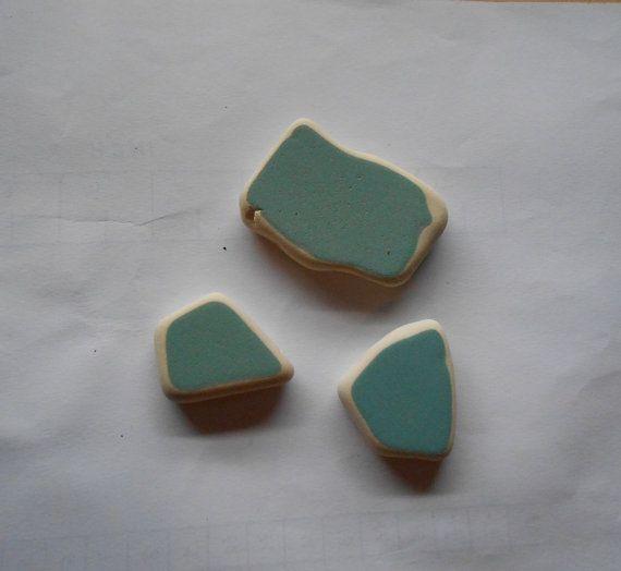 Ceramica di mare Sea pottery verde/azzurro di lepropostedimari