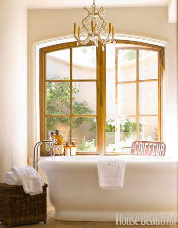 BathroomsBathroom Design, Bath Tubs, Decor Bathroom, Bathtubs, Designbathroom, Windows, House, Master Bathroom, Design Bathroom