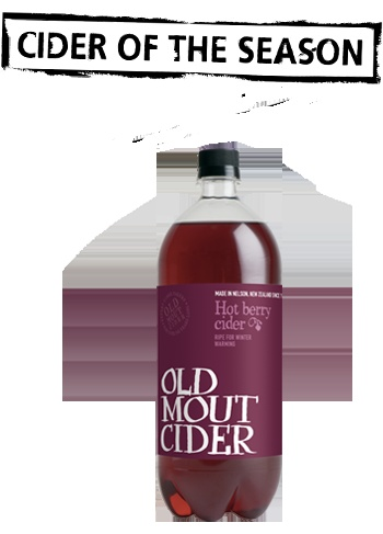Old Mout Hot Berry Cider