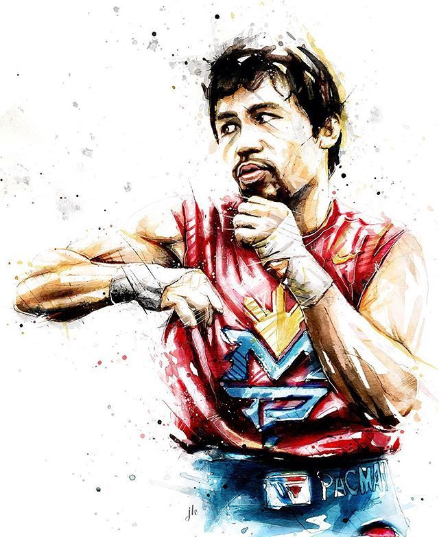 Manny Pacquiao drawing #warevert