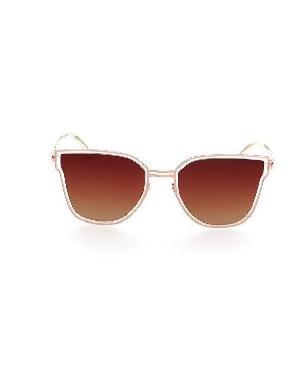 3ba37348b9 DESPADA- Made In ITALY Cat Eye Polarized Lens Metal Frame Ladies Sun  glasses Ds1552 -