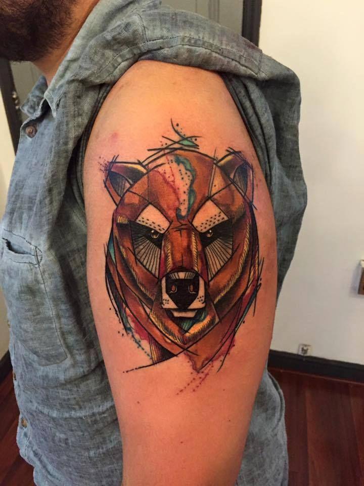 Les 26 meilleures images du tableau geometric animal tattoo sur pinterest tatouages animaux - Tatouage geometrique animaux ...