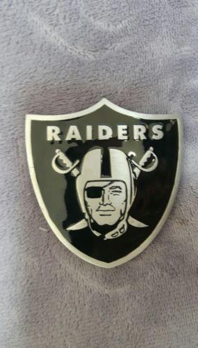 Oakland Raiders Pewter Belt Buckle Officially Licensed NFL Las Vegas LA
