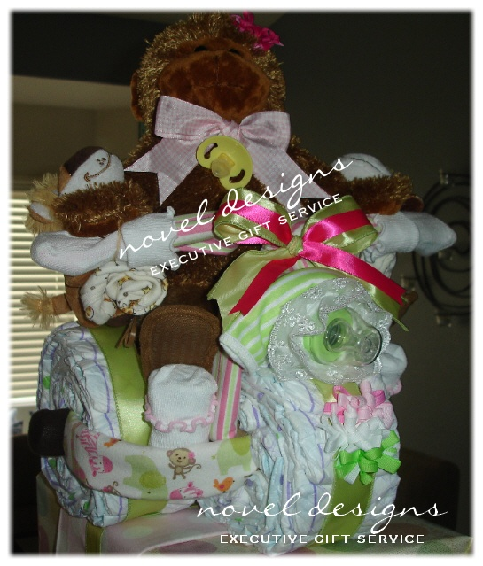 Baby Gift Baskets Las Vegas : Images about baby diaper cake on