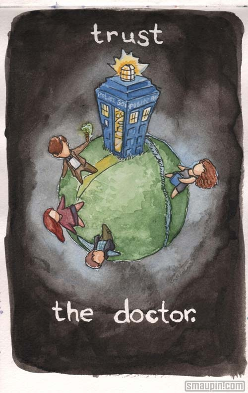 Trust the Doctor.