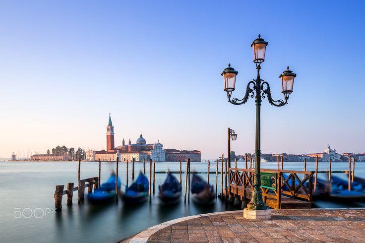 Venice sunrise - Morning sunrise from Venice coast