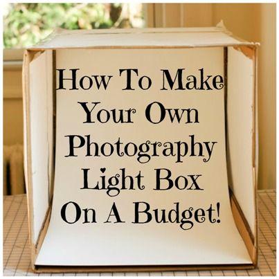 Best 25+ Photo light box ideas that you will like on Pinterest | Diy light box, Photography lightbox and Diy photo studio