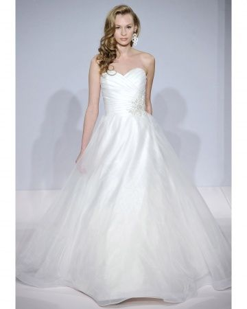 I know its a ball gown... but I think I just saw it on say yes to the dress and it looked beautiful!