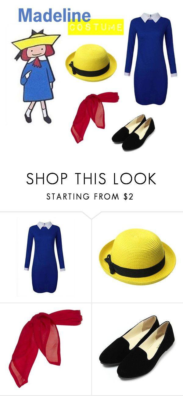 """""""Madeline Costume"""" by margscrawf on Polyvore featuring women's clothing, women's fashion, women, female, woman, misses and juniors"""