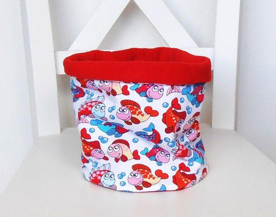 KINDER-LOOP visjesrode Fleece  voor jongenvoormeisje