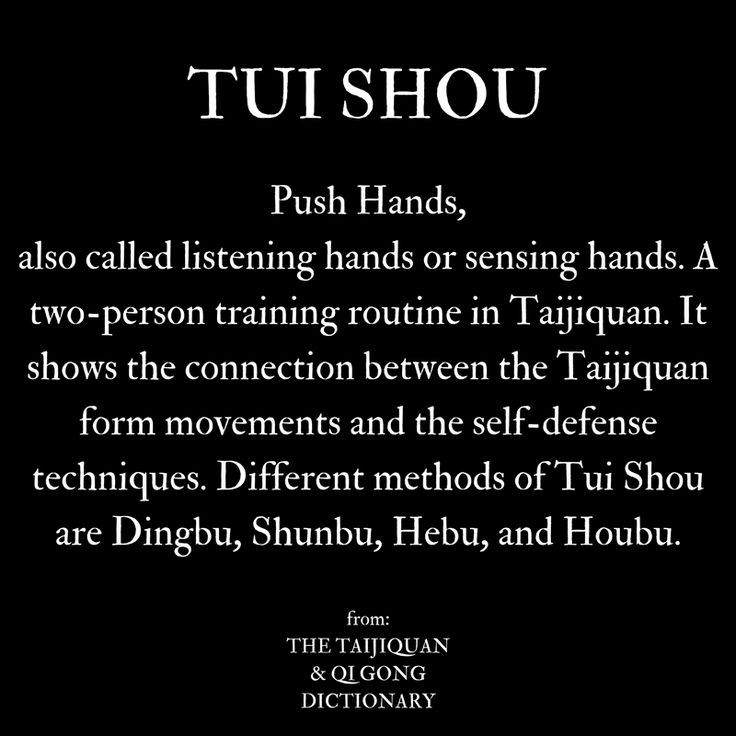 what is Pushing Hands / Tui Shou in Taijiquan  #taiji #taijiquan #taichi #taichichuan #tuishou #pushhands
