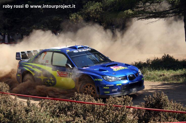 Petter Solberg - WRC Rally Costa Smeralda 2007 - foto di Roby Rossi http://www.intourproject.it/it/in_photo/il_significato_delle_immmagini_nella_comunicazione_cat_11.htm