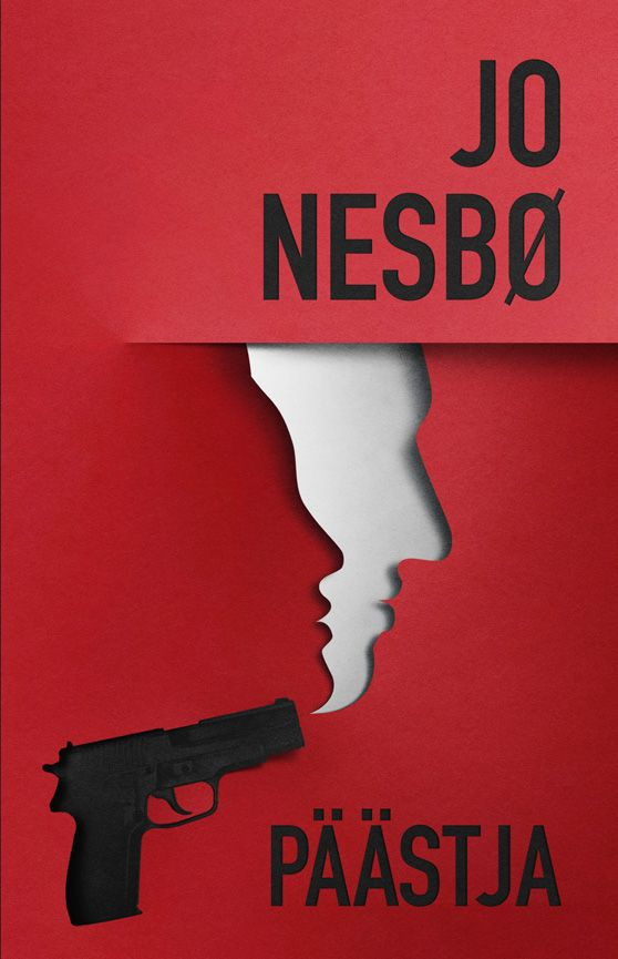 """Jo Nesbo"" book cover by Eiko Ojala"