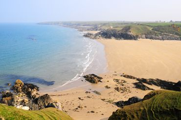 Porth Towyn beach, a short drive from Morfa Nefyn, Wales, UK. This beach is absolutely beautiful.