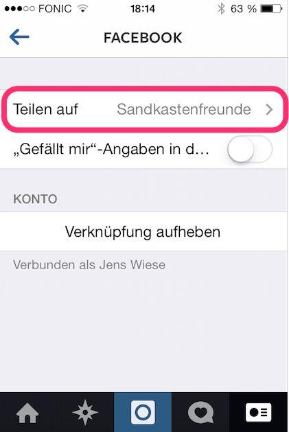 Wusstest du schon: Instagram Account mit Facebook Page Timeline verbinden - Mehr Infos zum Thema auch unter http://vslink.de/internetmarketing