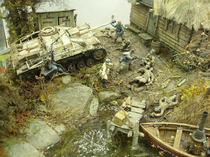 Les 25 meilleures id es de la cat gorie diorama militaire for 2eme hypotheque sur maison