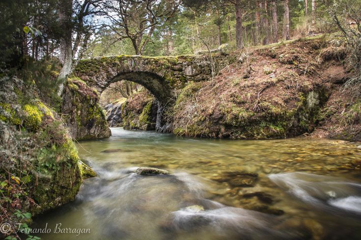Puente de piedra, Sierra de Guadarrama