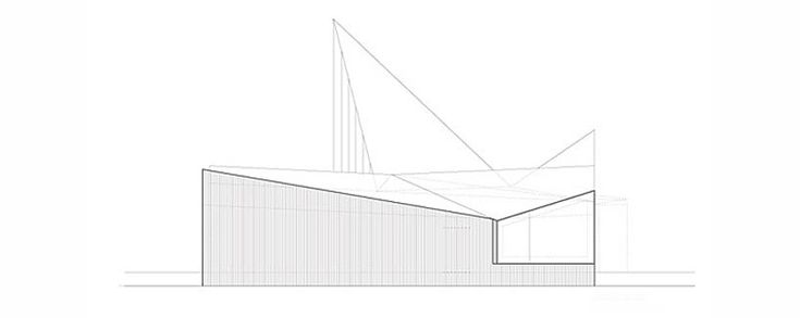 reiulf ramstad arkitekter: trollwall restaurant and service building is located at the foot of the troll wall, trollveggen.