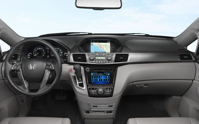 2015 Honda Odyssey Vs. 2015 Toyota Sienna Comparison Review | Honda Odyssey Interior | Read the Full Review