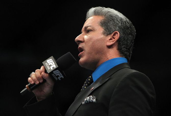UFC Ring Announcer Bruce Buffer Talks Octagons and Poker Tables | FIGHTLAND
