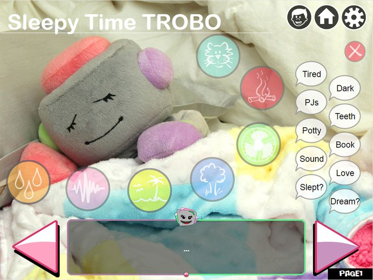 Sleepy Time TROBO!    Join TROBO for a cuddly bedtime experience. TROBO's latest app has phrases that encourage brushing teeth, reading bedtime stories, putting on PJs, etc... and now plays white noise, rain, ocean, yard, and other soothing background sounds. Remind your kiddos of just how cozy bedtime can be.    Download Now: http://mytrobo.com/storyapp  Team TROBO :]