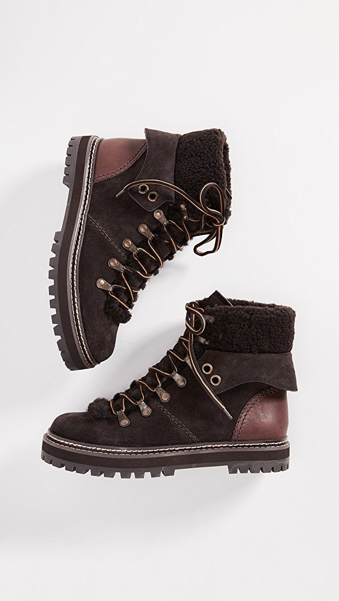 5095614da8e Eileen Flat Boots in 2019 | WOMEN'S SHOES: Ankle boots | Chloe boots ...