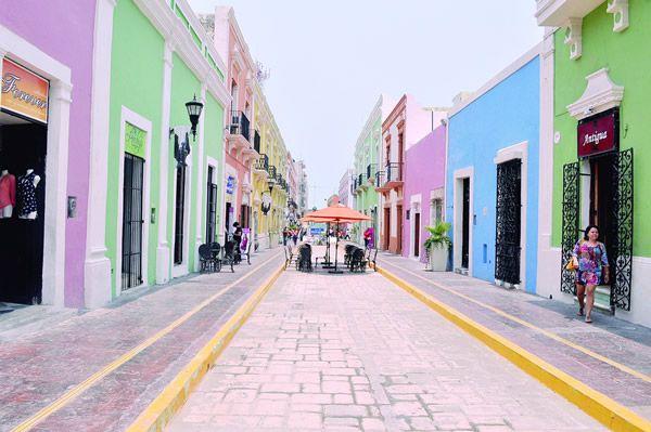 Calle 59 en Campeche