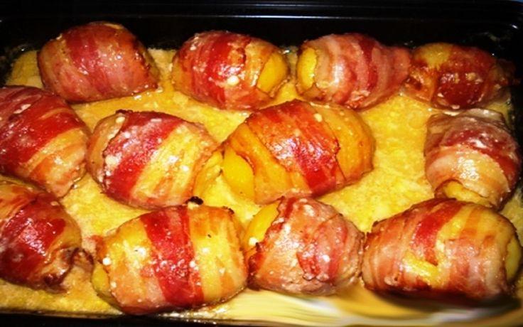 Fogta a burgonyát és baconbe tekerte, hihetetlen milyen finomság lett belőle! - MindenegybenBlog